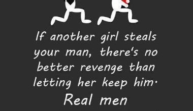 If Another Girl Steals Your Man