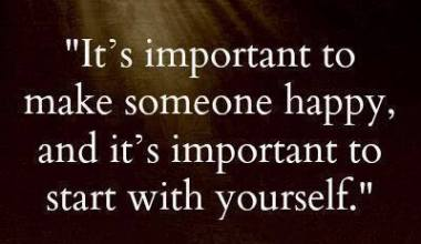 It's Important to make Someone Happy