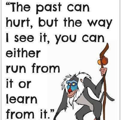 The Past Can Hurt........