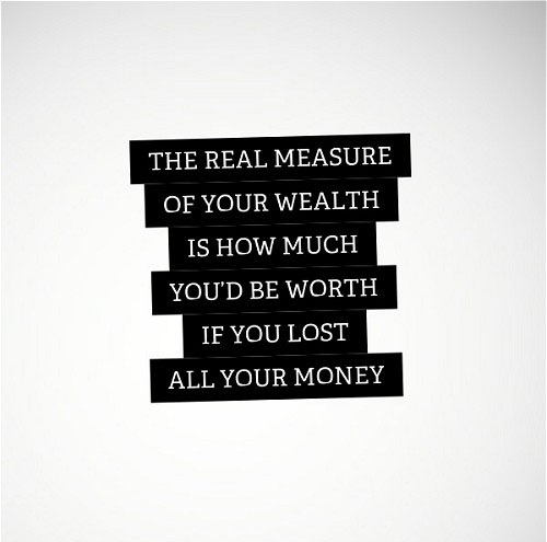 The Real Measure