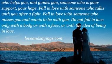 Idea Being In Love