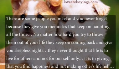 Give You Memories That Keep On
