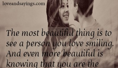 Most Beautiful Thing Is To See A Person