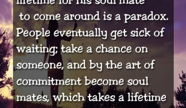 Take A Chance On Someone