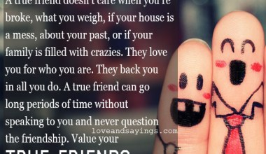 Value Of your Friends