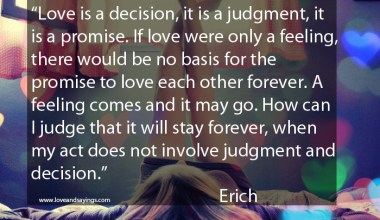 Judgment and decision