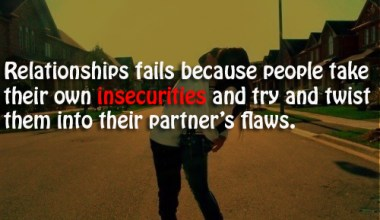 People Take Their Own Insecurities