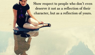A Reflection of yours