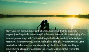 Really, Truly Find The Strongest Happiest Friendship in the person You Fall In Love With