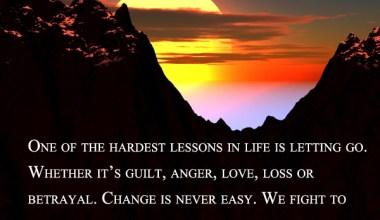 Change Is Never Easy