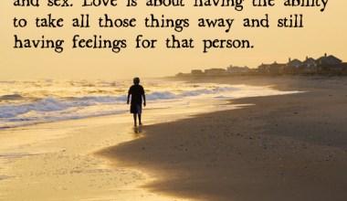 Having Feelings For That person
