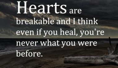 Heart Are Breakable