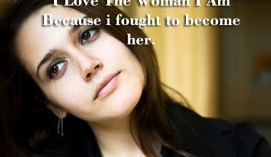 I Love The Woman I Am