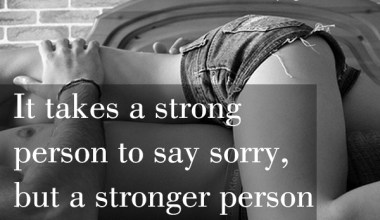 Stronger Person To Show Forgiveness