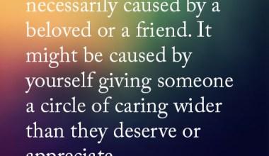 They Deserve Or Appreciate