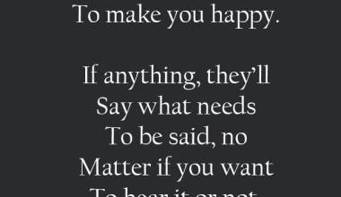 To Make You Happy