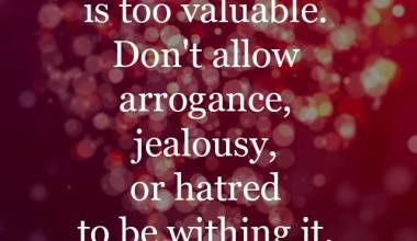 Your Heart is Too Valueable
