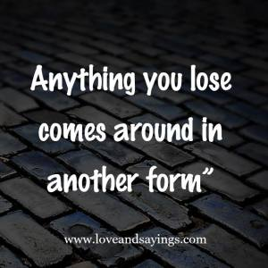 Anything Your lose