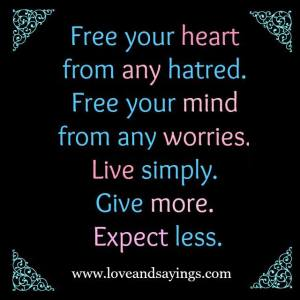 Free Your Mind From Any Worries
