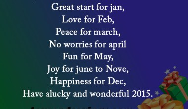 My Wishes For You In Year 2015