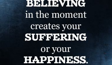 Suffering Or Your happiness