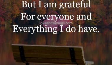 Everything I Do Have