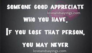 If you lose that person