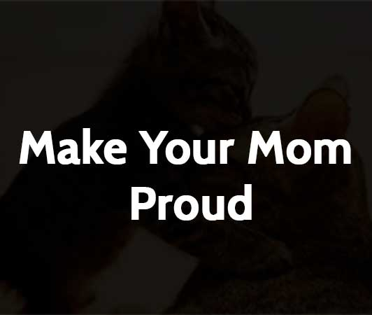 Make Your Mom Proud Quotes: Make Your Mom Proud