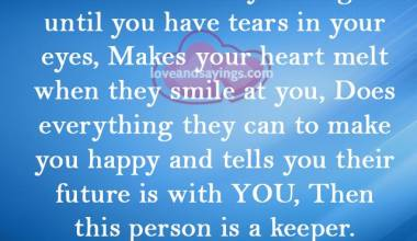 Who will make you laugh untill you have tears in your eyes