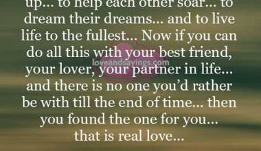 That is real Love