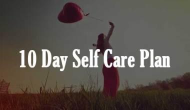 10 Day Self Care Plan