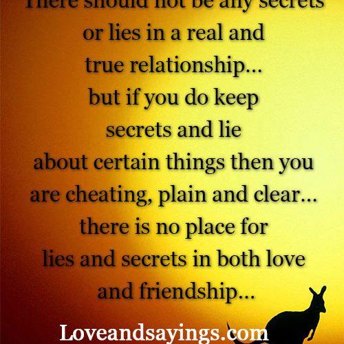 True Relationship…