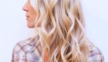 Layered, Wavy Hairstyle
