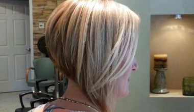 Angled and Layered with Swept Back Bangs