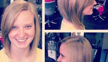 Three views of Mob hairstyles