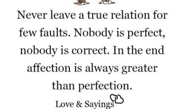 Never leave a true relation for few faults