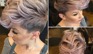 Shaved Hairstyle for Short Hair