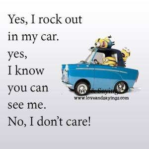 No, I don't care