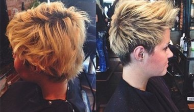 Pretty Short Spikey Hairstyles for Summer