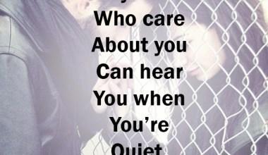 You're Quiet