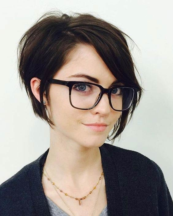 Cute A Line Short Haircut Casual Everyday Hairstyles