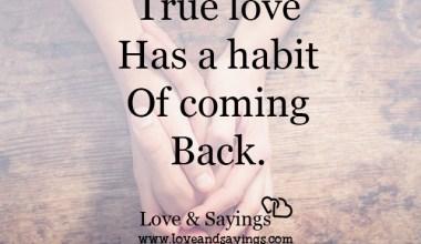 True Love has a habit