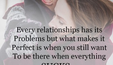Every relationships has its problems but
