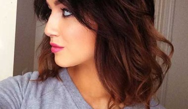 Cute and chic long bob hairstyle