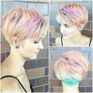 Choppy Layered Long Pixie