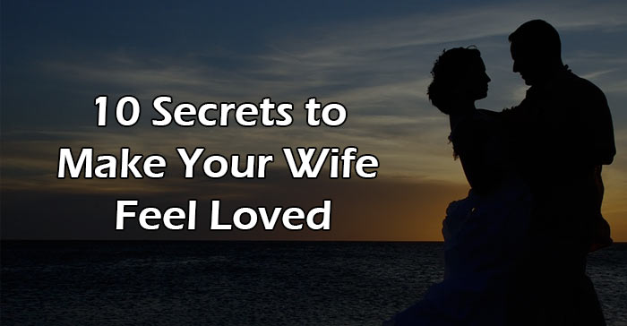 make your wife feel loved