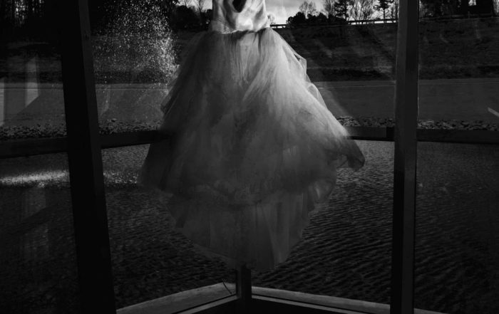 Atlanta Wedding Photographers Dramatic Dress Shot