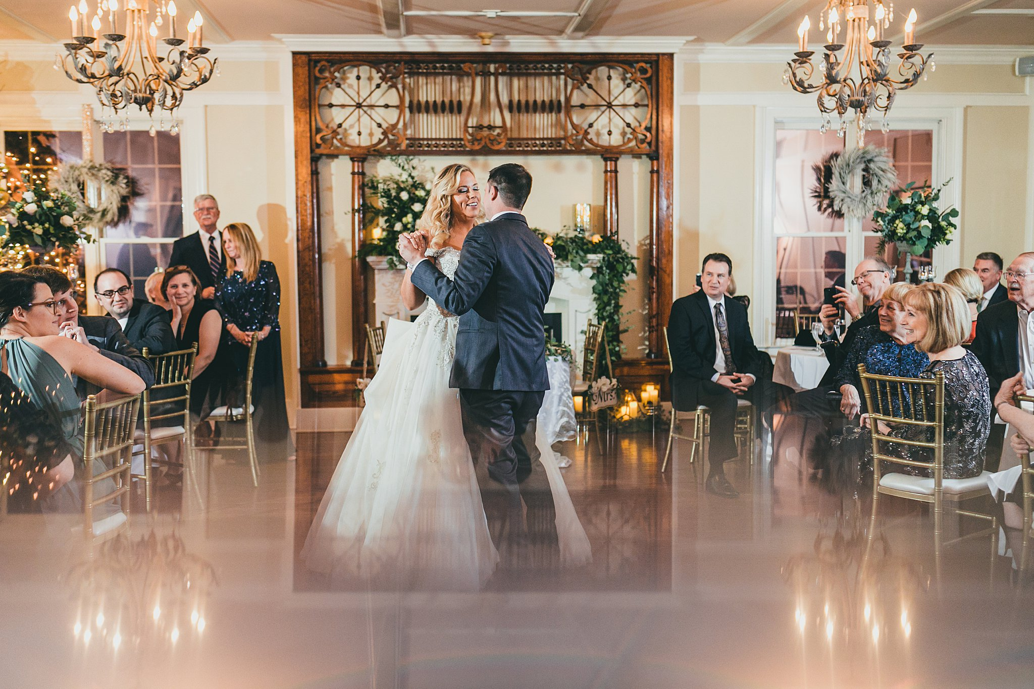 Atlanta Wedding Photographers Payne Corley House Christmas Wedding Duluth