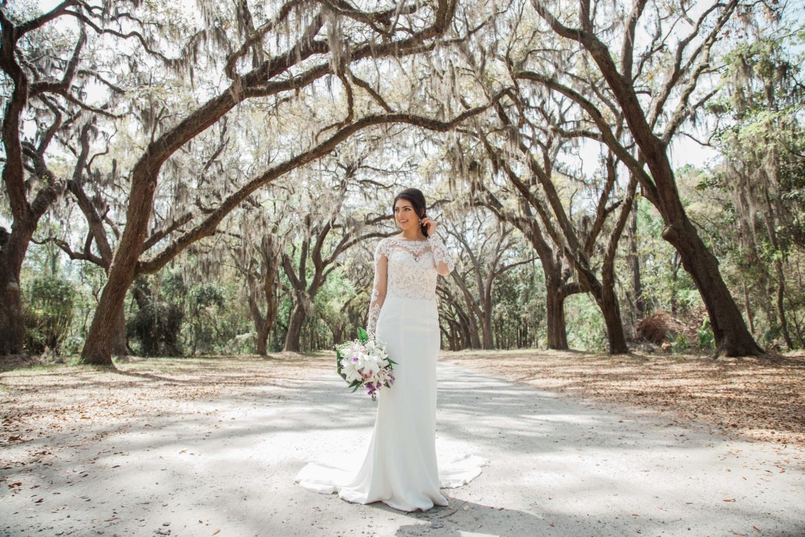 Wormsloe Historic Site Bridal Session