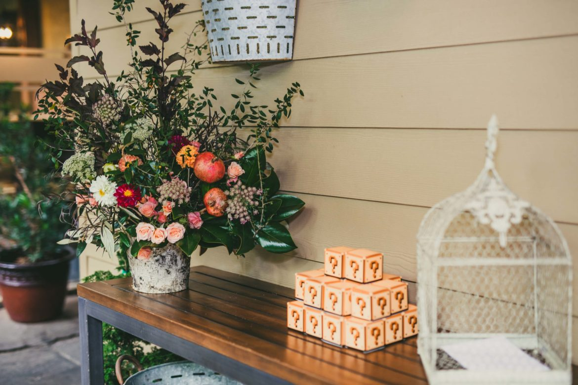 Moss + Clay Florist Wahoo Grill Wedding Love & Story Atlanta Wedding Photographers